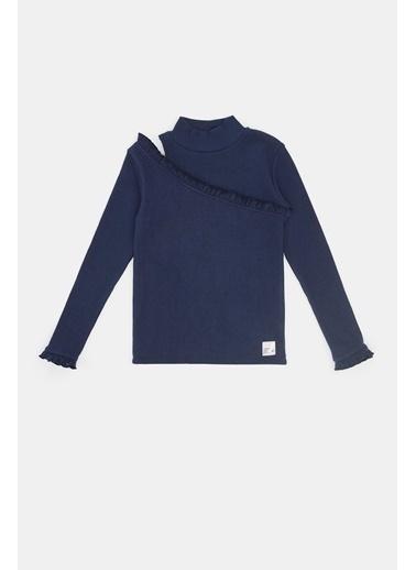 Tyess Kız Çocuk Lacivert T-Shirt 20Fw0Tj4512 Lacivert